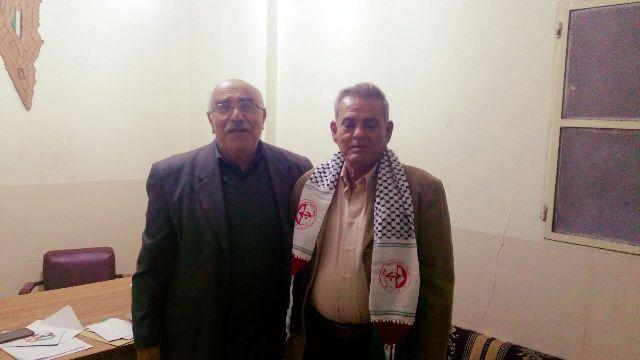 الجبهة الشعبية تلتقي حزب طليعة لبنان العربي