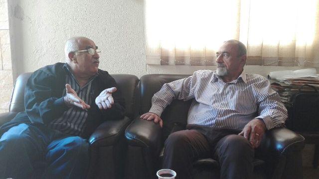 الجبهة الشعبية لتحرير فلسطين تلتقي الحزب الديمقراطي الشعبي في لبنان