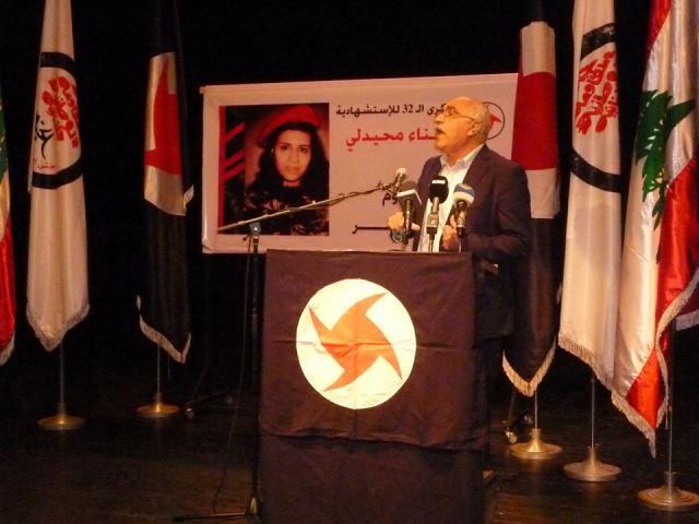 أبو جابر في ذكرى استشهاد سناء محيدلي: يجب العودة إلى صفوف المقاومة