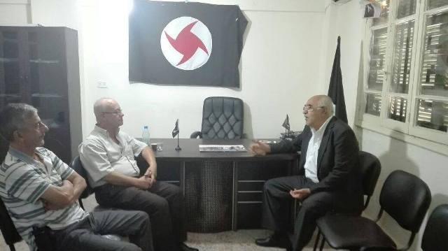 الجبهة الشعبية لتحرير فلسطين تلتقي الحزب السوري القومي الاجتماعي