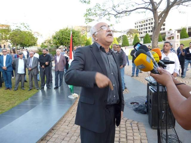 أبو جابر: ضرورة العمل من أجل توسيع حركة التضامن مع الأسرى المضربين عن الطعام في السجون الصهيونية