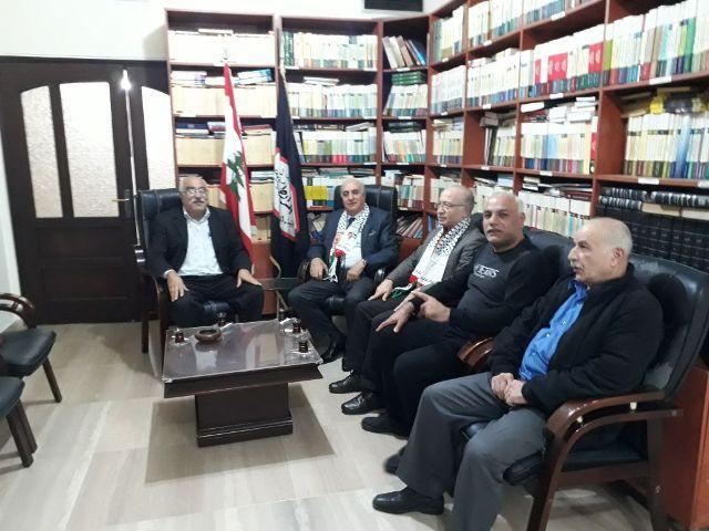 الجبهة الشعبية لتحرير فلسطين تلتقي المرابطون