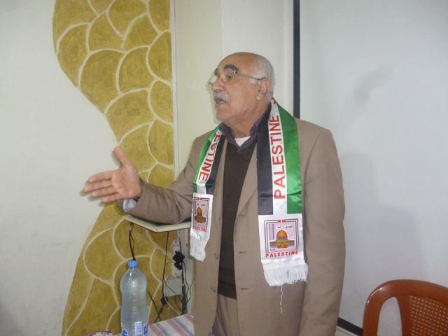 أبو جابر في يوم الأرض: يجب إنهاء الانقسام الفلسطيني الفلسطيني