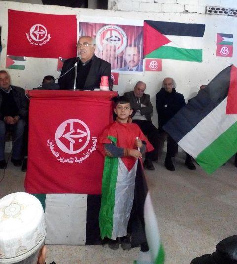 أبو جابر في ذكرى انطلاقة الجبهة الشعبية: لضرورة الحفاظ على الثوابت الوطنية