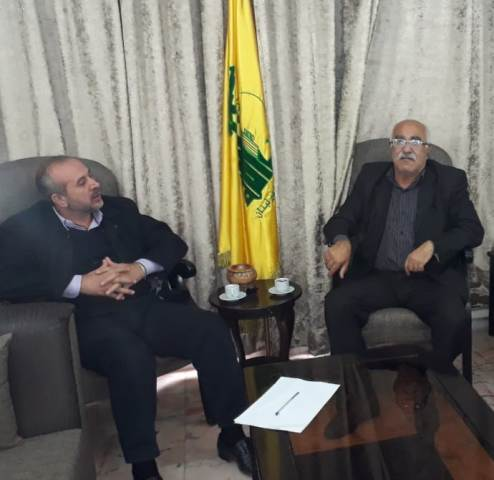 الجبهة الشعبية لتحرير فلسطين تلتقي حزب الله