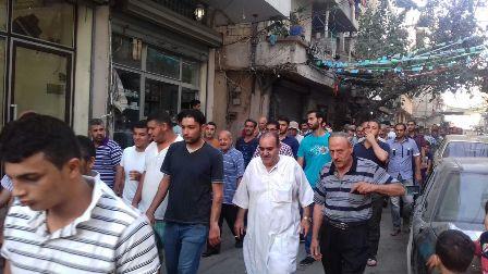 آل أبو جاموس شيعوا فقيدهم الحاج أحمد محمد أبو جاموس( أبو طلال)