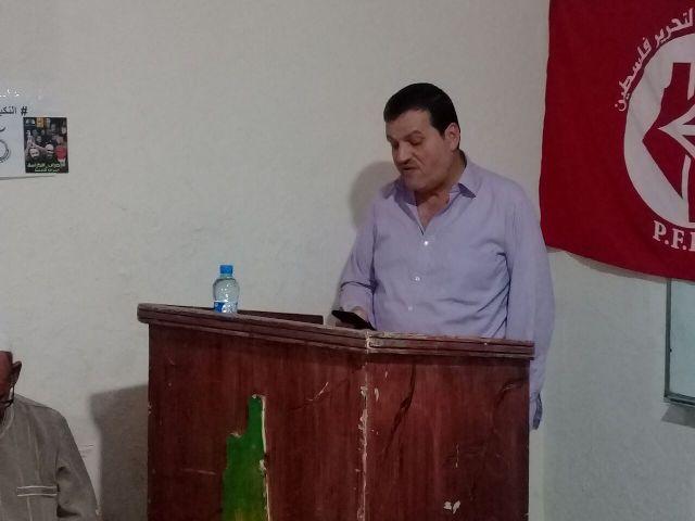 تكريم الناشط الإعلامي أبو صالح موعد في مخيم نهر البارد
