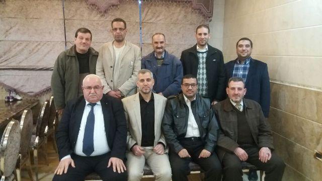 لقاء بين الملتقى الأدبي الثقافي الفلسطيني والتجمع الدولي للكتاب والأدباء الفلسطينيين