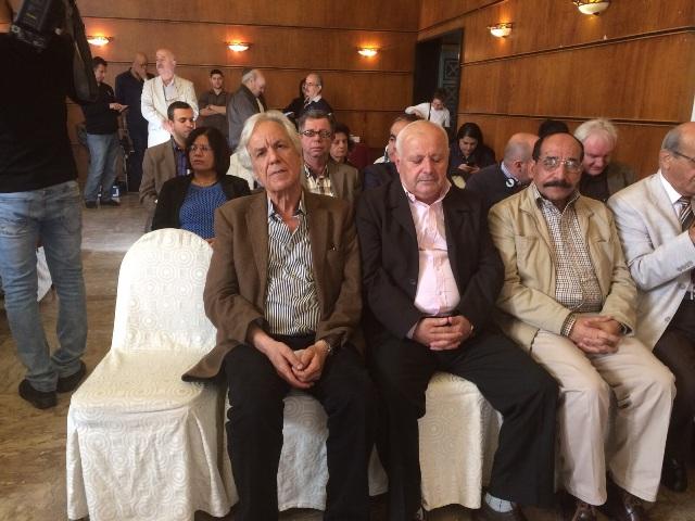 أعمال الندوه التي شارك فيها اتحاد نقابات عمال فلسطين .لبنان