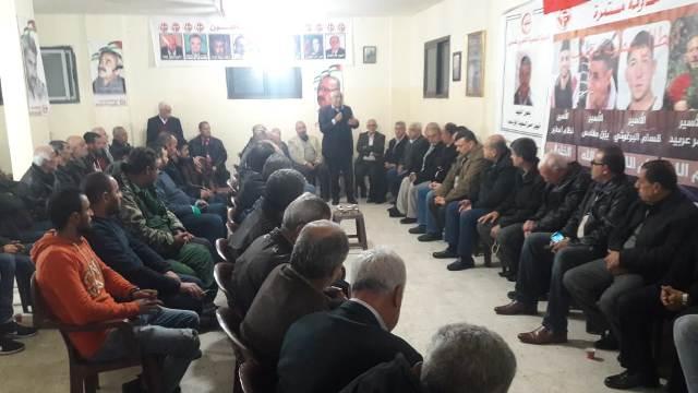 أبو جابر: 52 عاما ومازالت الجبهة الشعبية حافظة لأمانة الشهداء