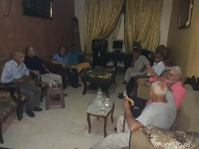 وفد من الشعبية في صيدا يزور آل علي في حي غوير أبو شوشة