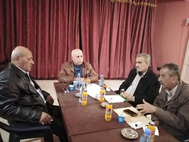 الشعبية في صور تستقبل وفدًا من حزب الاتحاد و جبهة النضال