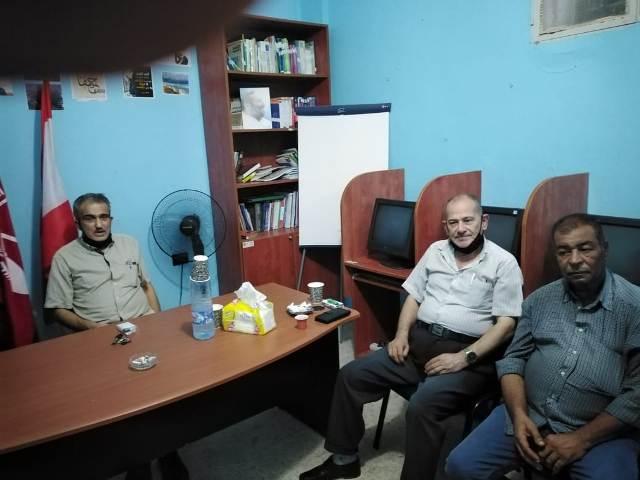 الجبهة الشعبية في صور تستقبل وفدًا من  جبهة التحرير الفلسطينية