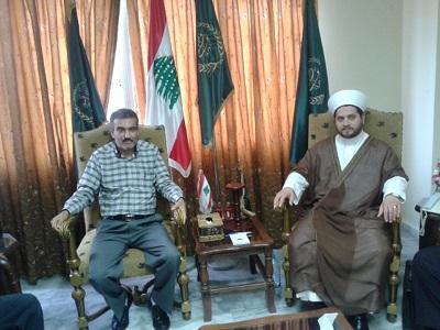 الجبهة الشعبية تلتقي سماحة المفتي مدرار الحبال تأكيداً على وحدة  الصف وأولوية القضية الفلسطينية