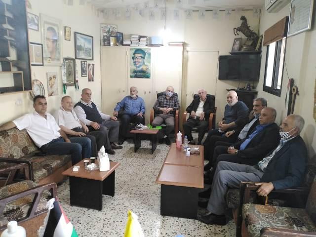 قيادة فصائل منظمة التحرير الفلسطينية في صور تدعو إلى الحكمة والوعي لحفظ أمن المخيمات وحرماتها