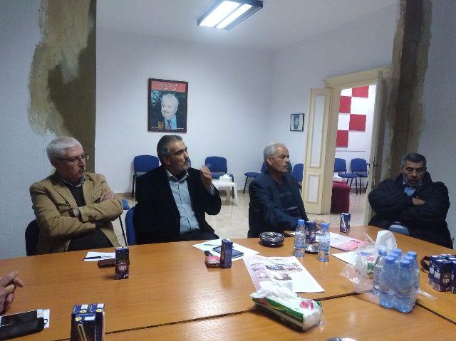الشيوعي اللبناني يلتقي وفدا من قوى اليسار الفلسطيني في صور