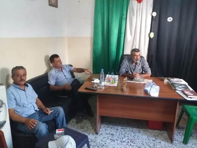 الجبهة الشعبية في صور تستقبل وفداً من الاتحاد العام لنقابات عمال فلسطين
