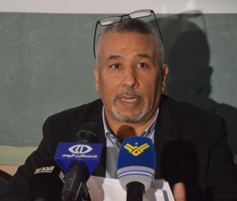 بالفيديو: مؤتمر صحفي لإعلان إطلاق الحملة الشعبية لإعادة بناء منزل الشهيد فادي قنبر
