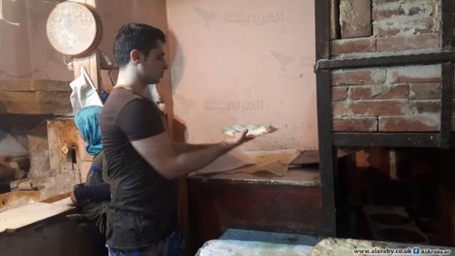سالم إزدحمد... فرّان فلسطيني يحمل شهادة هندسة ميكانيكية