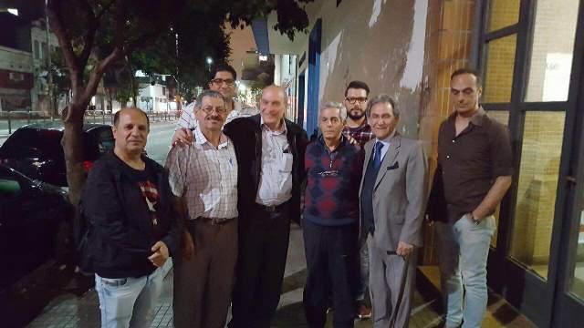 الدكتور ماهر الطاهر يلتقي عددًا من أبناء الجالية الفلسطينية في البرازيل