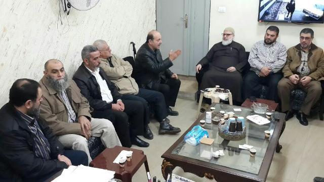 بيان صادر عن القيادة السياسية الفلسطينية للقوى الوطنية والإسلامية في صيدا