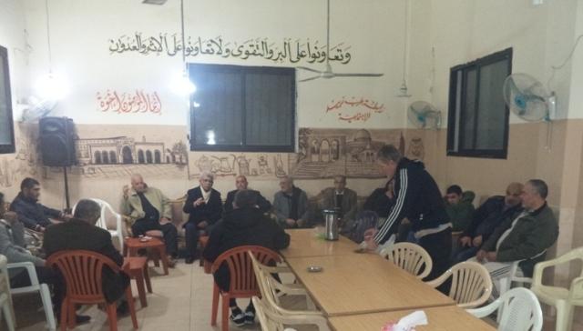 الشعبية في صيدا تزور رابطة عرب الزبيد الاجتماعية