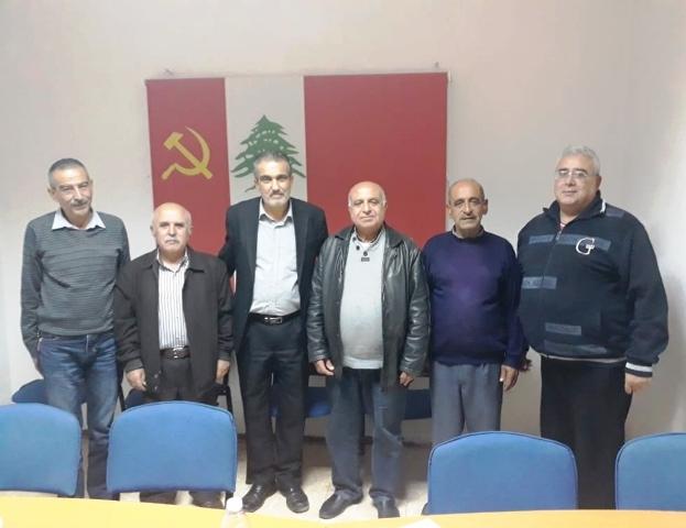 الشعبية في صور تزور الحزب الشيوعي اللبناني