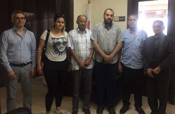 لجنة المتابعة المركزية تلتقي الهلال الأحمر القطري