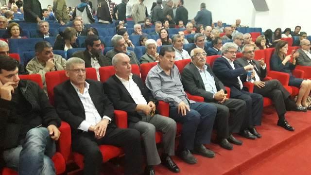 الشعبية تشارك الحزب الشيوعي اللبناني احتفاله بذكرى تأسيسه الـ 94 في عكار