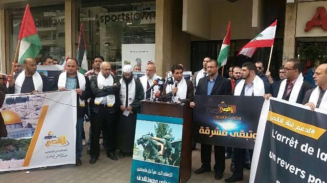 الإعلاميون الفلسطينيون واللبنانيون في الشمال