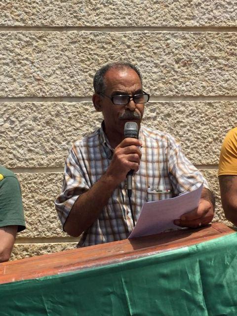 وقفة غضب تضامنية نصرة للأقصى في مخيم المية ومية