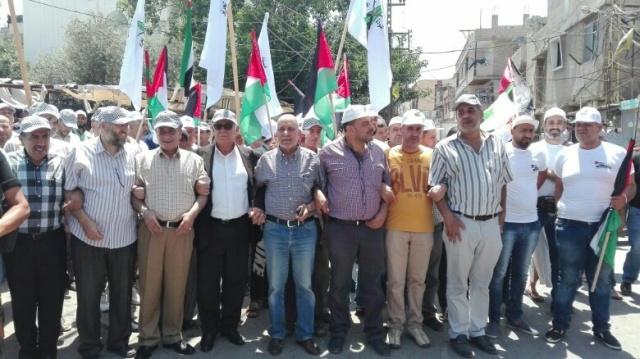 مخيمات الشمال تحيي يوم القدس العالمي