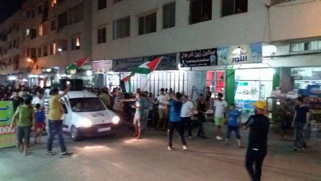 مسيرة غضب جماهيرية نصرة وتضامنًا مع الأقصى في مخيم نهر البارد