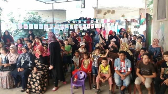 جمعية الأطفال والفتوة في نهر البارد تحتفل وتقيم معرضًا