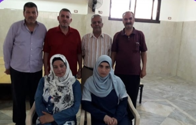 الملتقى الأدبي الثقافي الفلسطيني في مخيم نهر البارد  في لقائه الشهري