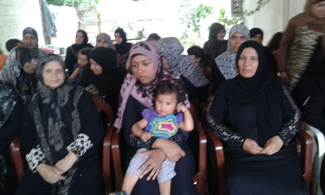 ندوة في مخيم البص تحت عنوان نصائح لمرضى السكري وفحص التخزين