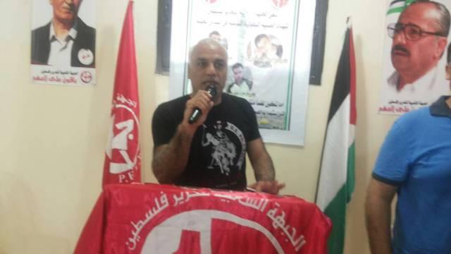 الجبهة الشعبية لتحرير فلسطين في الشمال تتقبل التهاني بالعملية البطولية