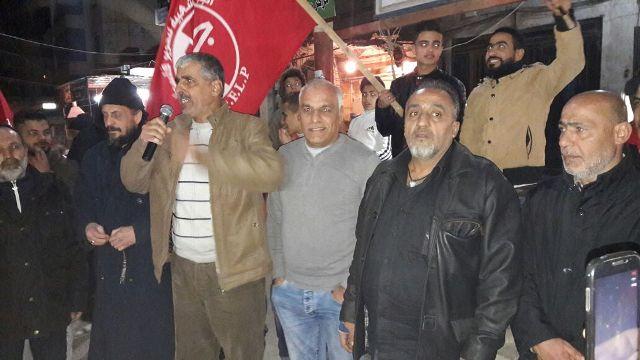 مخيم البداوي يحتفي ببطل القدس الشهيد فادي القنبر