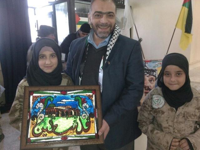 حفل فطور في مخيم البداوي