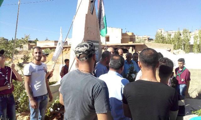 الفصائل الفلسطينية في البقاع تزور مقابر الشهداء
