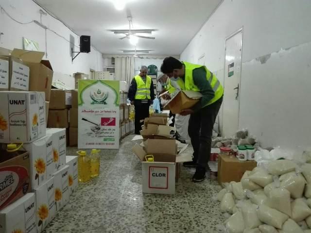 حملة أهل الخير في مخيم البص لمساعدة العوائل الأكثر عسرًا