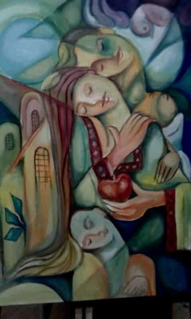 أعمال الفنان الفلسطيني علي غازي عبد العال فن العيش الفلسطيني وإحياء الوجود