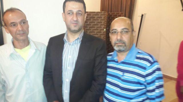 ندوة سياسية في إقليم الخروب للإعلامي حسين مرتضى