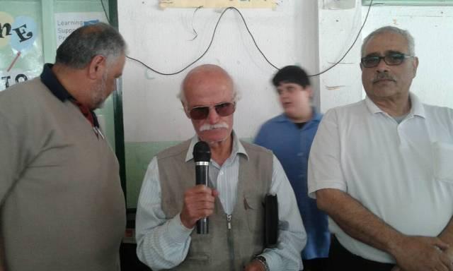 اللجان الشعبية الفلسطينية تحيي ذكرى النكبة في مخيم الجليل