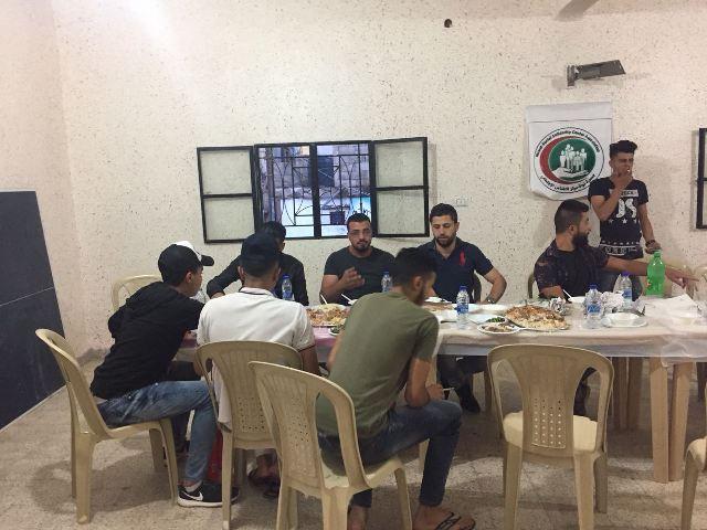 منظمة الشبيبة الفلسطينية في مخيم الجليل أقامت مأدبة إفطار
