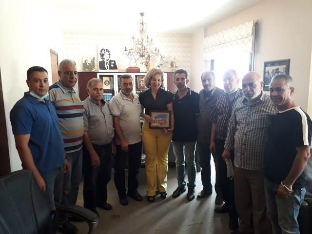 الفصائل الفلسطينية تكرّم المحامية بشرى الخليل