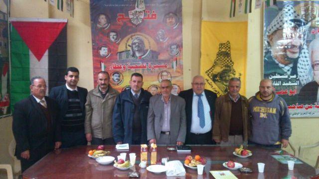 الملتقى الأدبي الثقافي الفلسطيني، يعقدُ اجتماعَهُ في النهر البارد