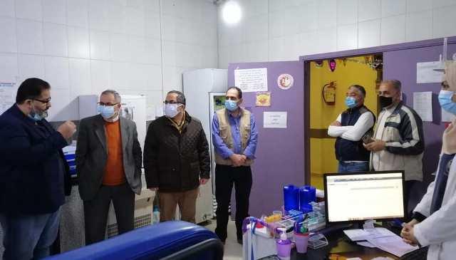 إدارة مستشفى النداء الإنساني في مخيم عين الحلوة تستقبل السيد علي العبدالله ووفدًا من تجمع المؤسسات الأهلية