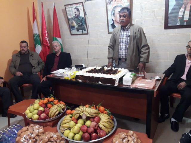 اللجان العمالية الشعبية الفلسطينية في صيدا كرّمت عددًا من المتطوعين