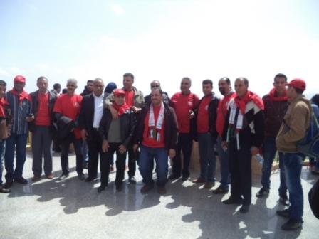 برنامج غسان كنفاني لبناء الكادر يحيي يوم الأرض في مارون الراس على الحدود مع فلسطين